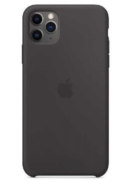 Чехол Apple Silicone Case iPhone 11 Pro (Black)