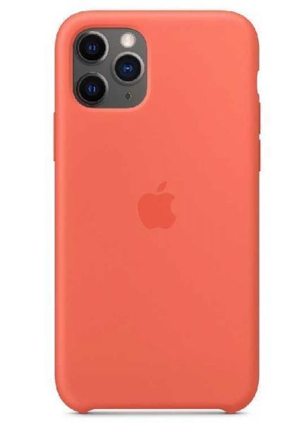 Чехол Apple Silicone Case iPhone 11 Pro (Orange)