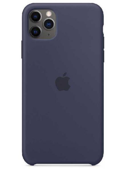 Чехол Apple Silicone Case iPhone 11 Pro (Midnight Blue)