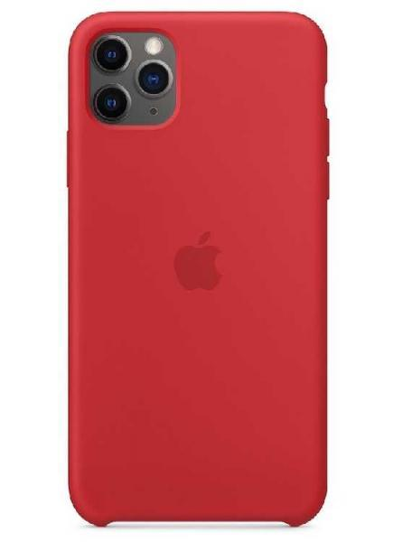 Чехол Apple Silicone Case iPhone 11 Pro Max (Red)