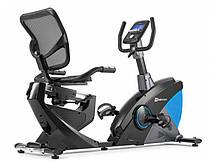 Горизонтальний велотренажер для дома Hop-Sport HS-070L Helix iConsole+ синий