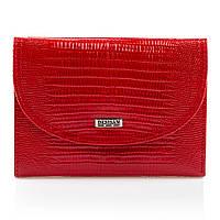 Кошелек женский кожаный компактный тонкий Desisan красный (t034/1)