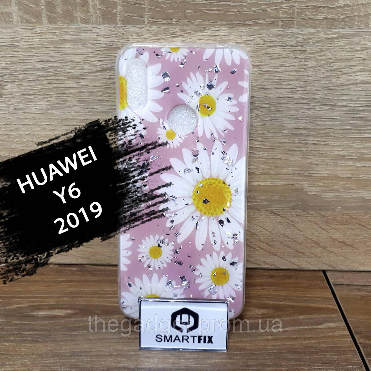 Чехол с рисунком для Huawei Y6 2019