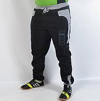 Мужские спортивные штаны под манжет - зима  - (41-155)