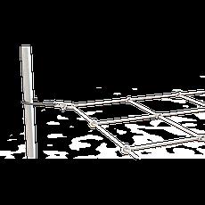 Эластичная сетка для гроубокса Secret Jardin WEB IT 120x60см, фото 2