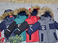 Зимняя куртка 2033 на 100% холлофайбере размеры от 86 см до 110 см рост