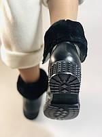 Зимние ботинки. Турция. Натуральный мех, натуральная кожа.  Р 36.37.38., фото 4