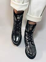 Зимние ботинки. Турция. Натуральный мех, натуральная кожа.  Р 36.37.38., фото 6