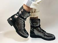 Зимние ботинки. Турция. Натуральный мех, натуральная кожа.  Р 36.37.38., фото 7