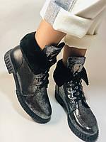 Зимние ботинки. Турция. Натуральный мех, натуральная кожа.  Р 36.37.38., фото 5