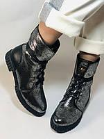Зимние ботинки. Турция. Натуральный мех, натуральная кожа. Р 36.37,38