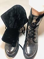 Зимние ботинки. Турция. Натуральный мех, натуральная кожа.  Р 36.37.38., фото 9
