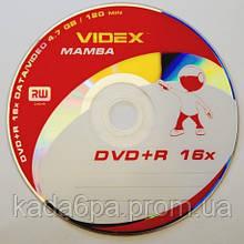 Диск Videx DVD+R x16 Mamba