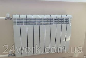 Биметаллический радиатор отопления DiCalore Bimetal 350/80, 180 watt