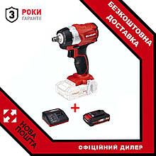 Набір ударний гайковерт безщітковий Einhell TE-CW 18Li BL - Solo + зарядний пристрій і акумулятор 4,0 Ah