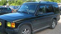 Ветровики Лендр Ровер Дискавери | Дефлекторы окон Land Rover Discovery II 1998-2004