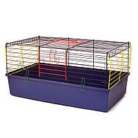 Клітка для гризунів Кролик 790 х 450 х 390 мм фарба різні кольори, фото 1