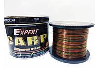 Леска карповая для рыбалки CarpExpert 1000 м мультиколор 0.30 мм