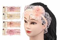 (Цена за 12 шт.) Повязка детская со звездочкой на голову Cucumis разные цвета, детские повязки, фото 1