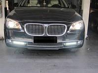 Штатные дневные ходовые огни (DRL) для BMW 7 F01