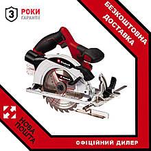 Пила циркулярная аккумуляторная Einhell TE-CS 18/165-1 Li-Solo