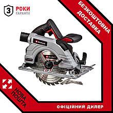 Пила циркулярна акумуляторна Einhell TE-CS 18/190 Li-Solo New
