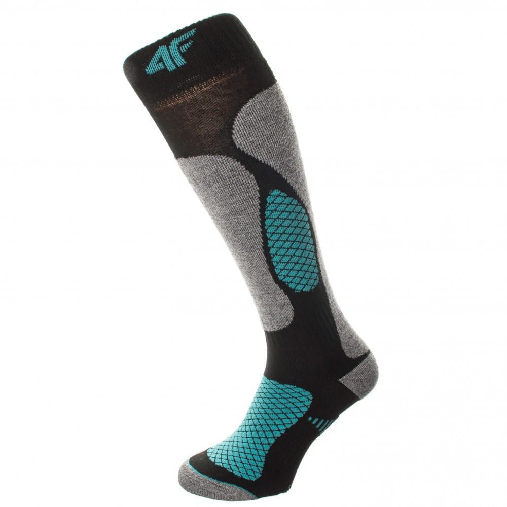 Шкарпетки лижні 4F Warm 35-38 grey-black 02-4fblkgr3538