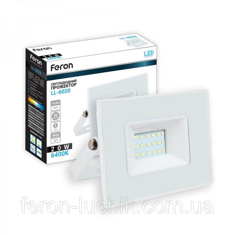 Світлодіодний прожектор LED Feron LL-6020 20W