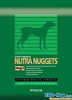 Корм для спортивных собак Нутра Наггетс зеленая Performance tor Dogs 15кг +3кг  NUTRA Nuggets