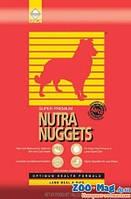 Корм для собак Нутра Наггетс красная с ягненком и рисом 3кг. NUTRA Nuggets
