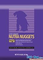 Корм для щенков Нутра Наггетс фиолетовая Puppy 3кг. NUTRA Nuggets