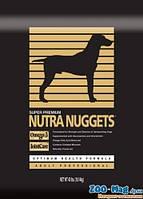 Корм для собак Нутра Наггетс черная профессиональна 15кг. NUTRA Nuggets