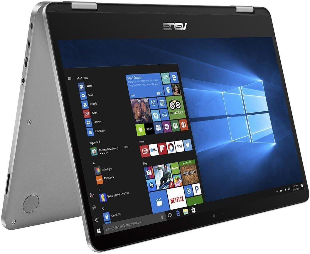 "Asus VivoBook Flip TP401MA-AH21T CONVERTIBLE 2-IN-1 Pentium® Silver N5030 1.1GHz 128B SSD 4GB 14"" (1366x768)"
