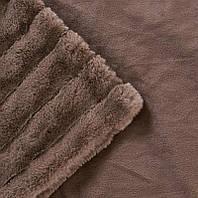 Плед Шиншилла 160х210 | Покрывало мягкое | Теплый плед | Пушистое покрывало на кровать