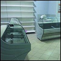 Холодильные и морозильные витрины б у