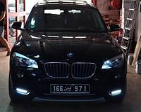 Штатные дневные ходовые огни (DRL) для BMW X1 E84 T2