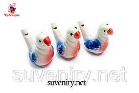 Керамічні водяні свистки кольорові