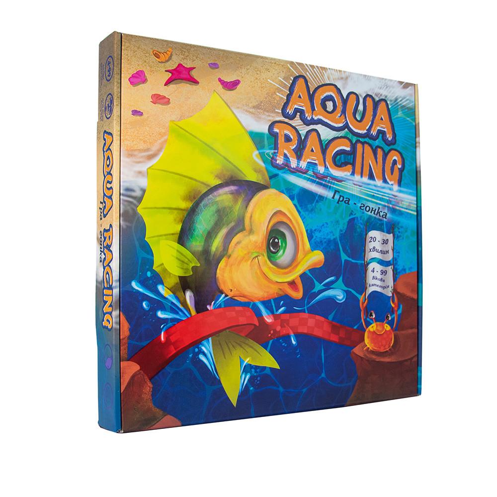"""Настольная игра 30416 (укр) """"Aqua racing"""", в кор-ке 33-32-4,5см 30416"""