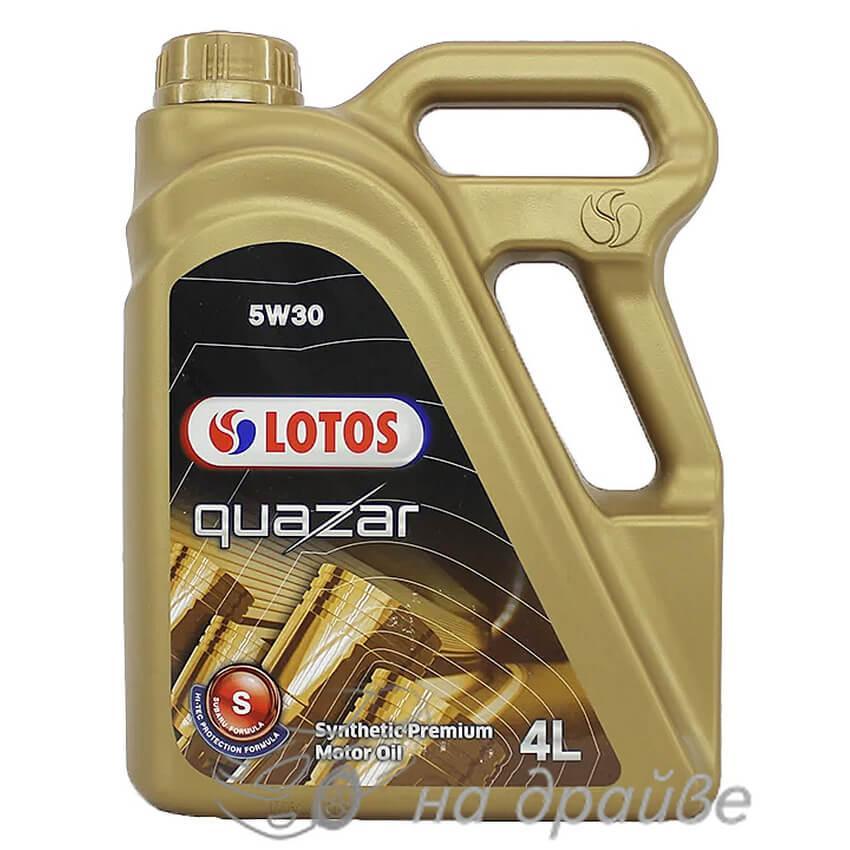 Масло моторное QUAZAR S 5W-30 4 л Lotos Oil