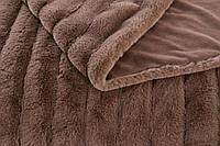 Плед Шиншилла 220х240   Покрывало мягкое   Теплый плед   Пушистое покрывало на кровать