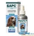Спрей от блох и клещей Барс (фипронил) для собак 100мл