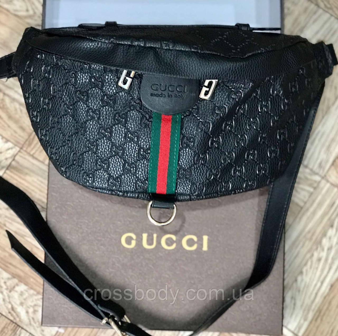 Поясная сумка бананка в стиле Gucci в стиле Турция