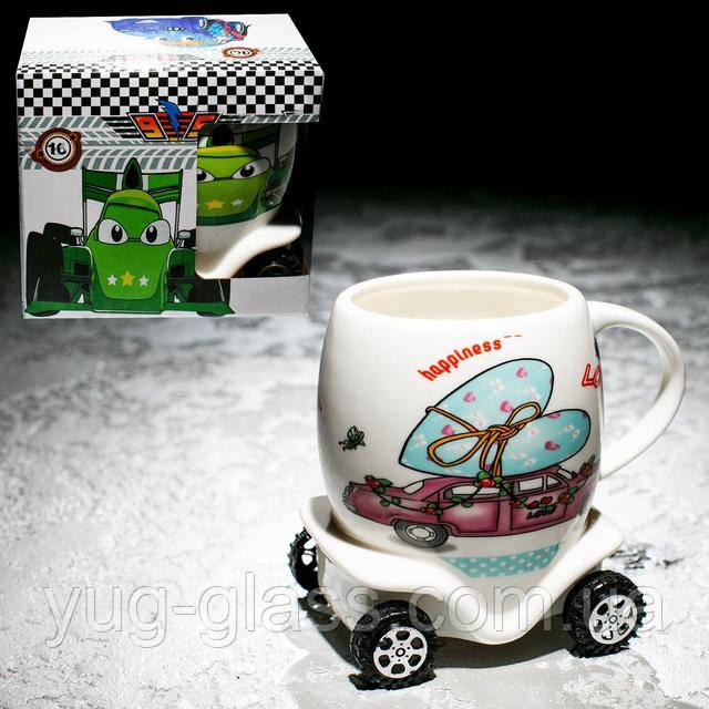 Детская чашка на колесах для девочек