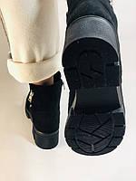 Натуральне хутро. Люкс якість. Жіночі зимові черевики. Натуральна замша .Туреччина. Mario Muzi. Р. 37, 39,40., фото 10