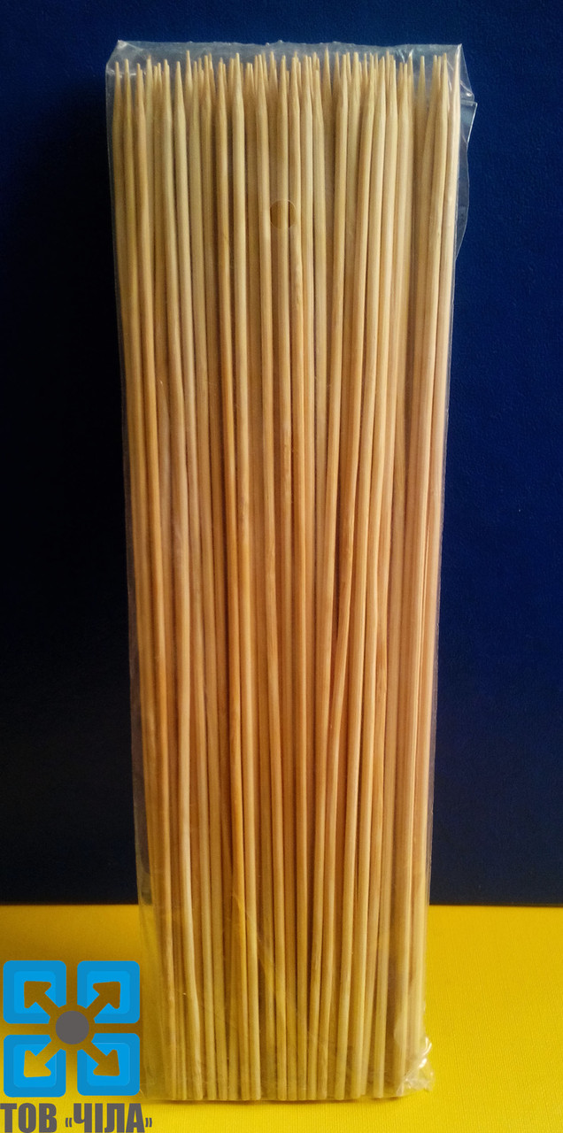 Палочки для шашлыка 15 см бамбуковые (100 шт.)