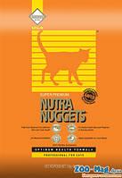 Корм для котов Нутра Наггетс оранжевая 18,14кг. NUTRA Nuggets