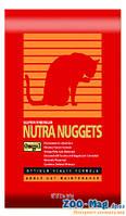 Корм для кошек  всех пород Нутра Наггетс (красная) хайрбол 1кг