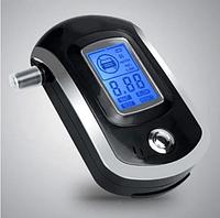 Персональный алкотестер SUNROZ AT6000 карманный цифровой алкометр LCD Черный