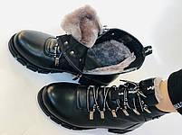 Натуральный мех. Люкс качество. Женские зимние ботинки. Натуральная кожа .Турция. Р.37-40., фото 7