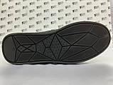 Комфортні шкіряні демісезонні черевики на блискавці Detta, фото 9